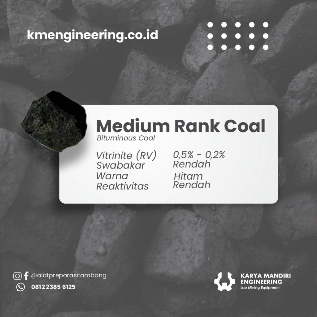 Medium Rank Coal