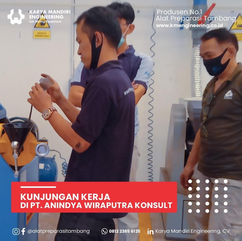 Kunjungan Kerja di PT. Anindya Wiraputra Konsult
