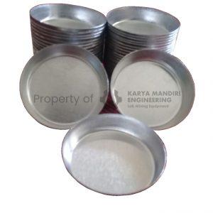 Cup Sample Aluminium Alat Preparasi Tambang