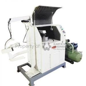 Lab Pulverizer Pneumatic Alat Preparasi Tambang